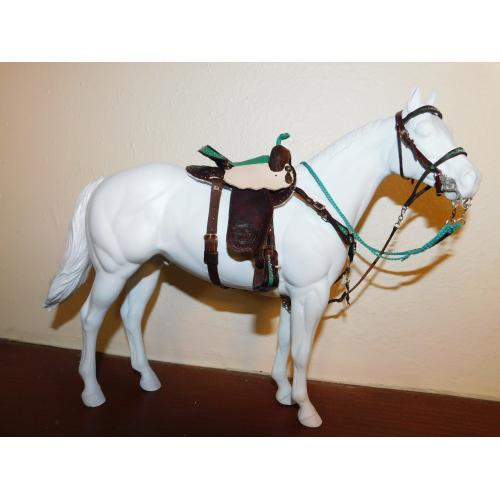 Western Gaming tack set Riversong saddlery