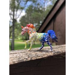 Custom Rainbow Ara-loosa Mini Whinny