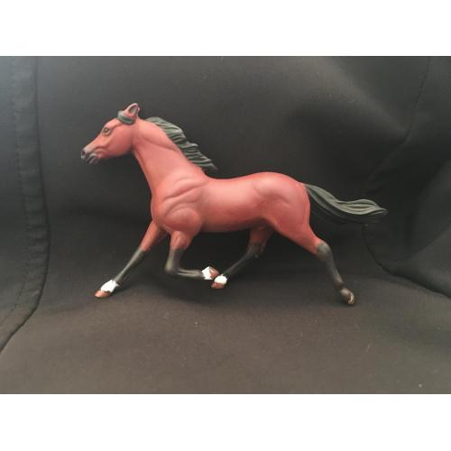 Custom Breyer SM Pacer to Blood Bay