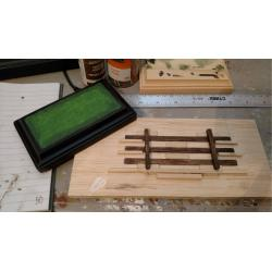 5″ Three-Rail, Two-Post Fence (Removeable, Stablemate Scale, 1:32)