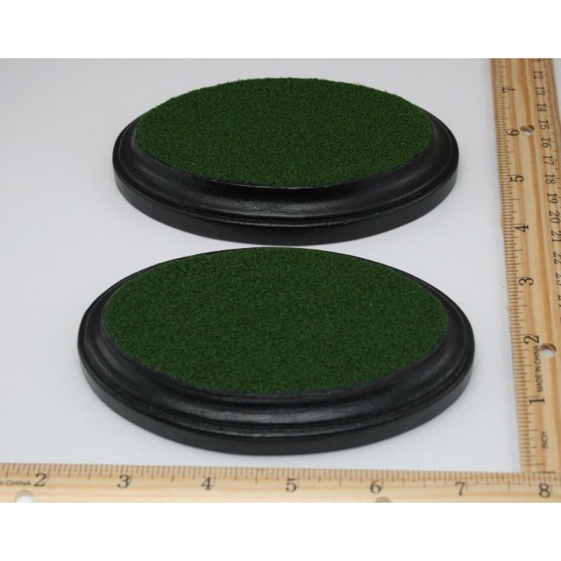 Grass Display Base, Oval 3x5